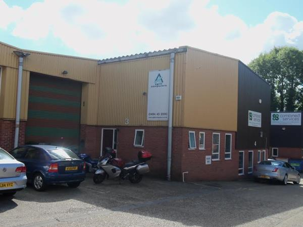 Image of Unit 3, Marlborough Trading Estate, West Wycombe Road, High Wycombe, HP11 2LB