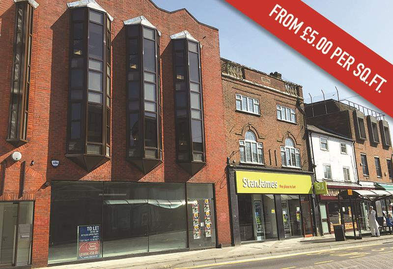 Image of First & Second Floor, 46-48 Oxford Street, High Wycombe, Bucks, HP11 2XQ