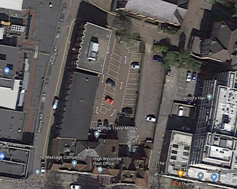 Image of Permit Car Parking, Rear Of 4 Priory Road, High Wycombe, Bucks, HP13 6SF