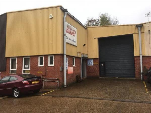 Image of Unit 8 - Marlborough Trading Estate, West Wycombe Road, High Wycombe, HP11 2LB